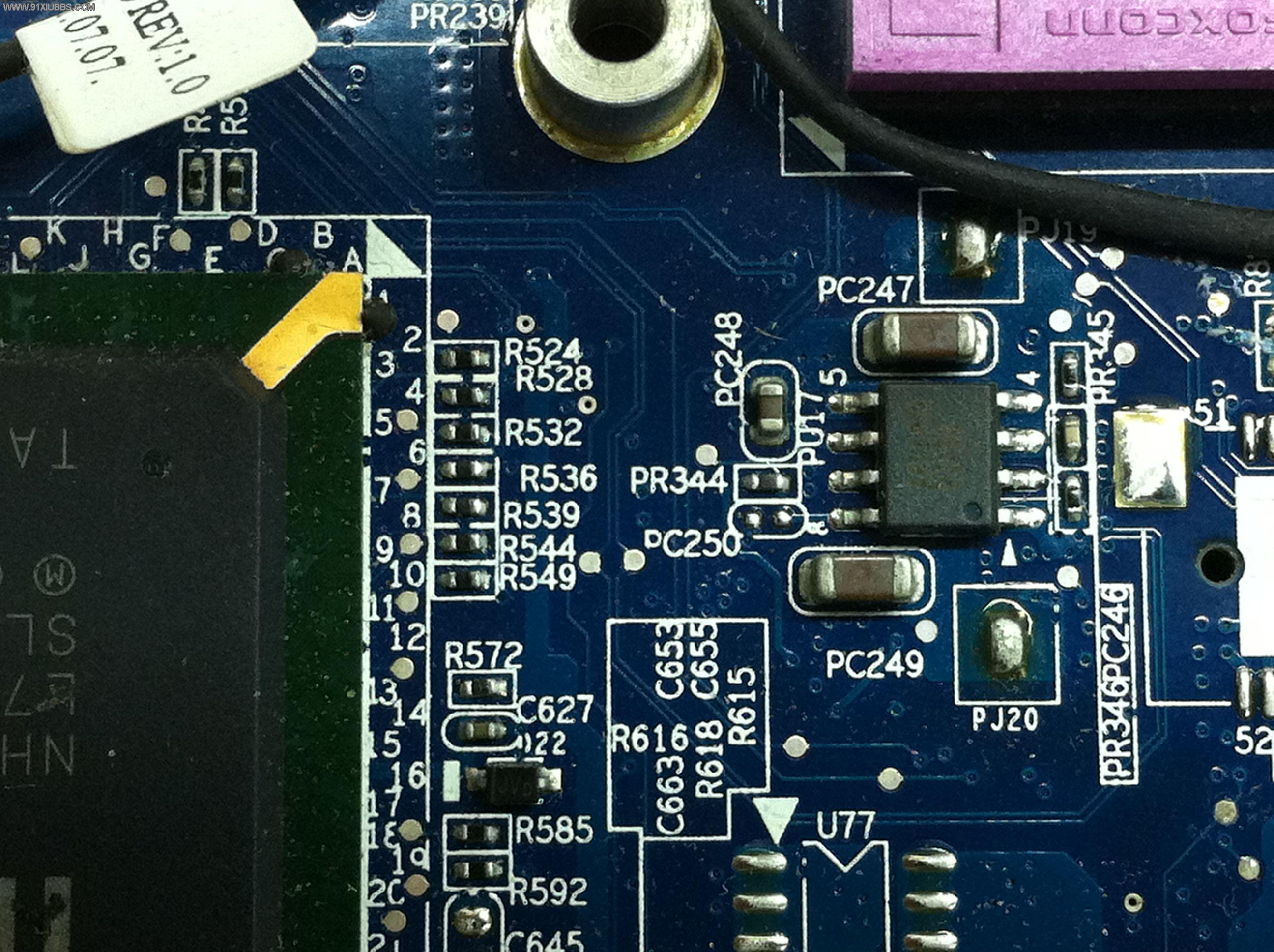 注意笔记本主板分组电压和ldo电压不良引起的笔记本开机不亮开机掉电