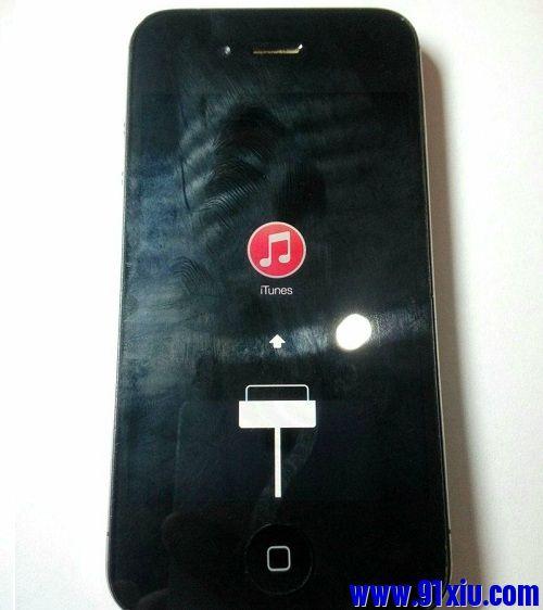 iPhone4S刷机报错发生未知错误4013维修一