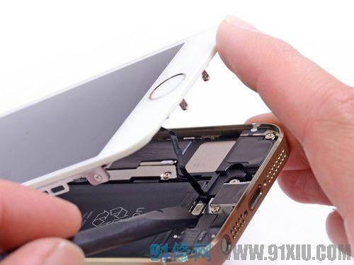 苹果手机拆卸方法